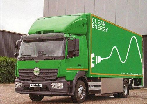 کامیون برقی و هوشمند ایرانی روانه بازار میشود