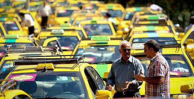 دعوای خودروهای ون با تاکسی های سواری!