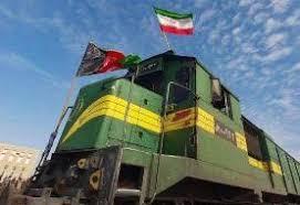 ورود اولین قطار ایرانی به افغانستان