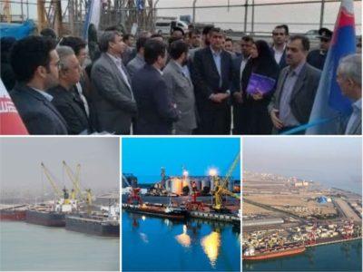 آغاز بهرهبرداری از مخازن نگهداری فرآوردههای نفتی در بندر امام خمینی(ره)
