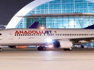 پروازهای ارزانقیمت ترکیش با برند آنادلوجت از ۲۶ دی ماه