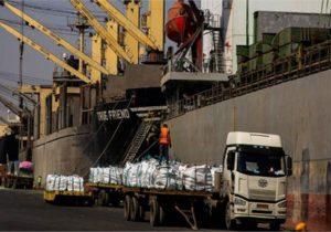 بارگیری ۴۰هزار تن کالای صادراتی در کمتر از ۸ روز