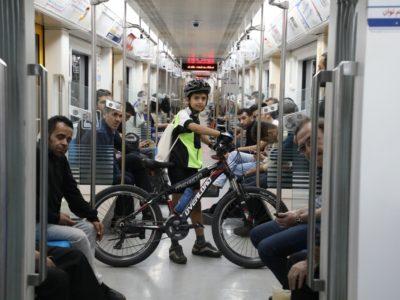 استفاده دو هزار و ۵۰۲ دوچرخه سوار از مترو در سال ۹۹