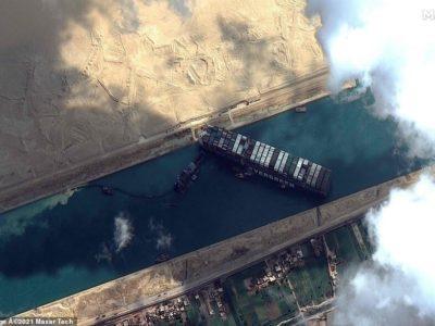 احتمال گسترش عرض آبراه در بخشهایی از کانال سوئز