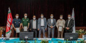 آیین افتتاح شعبه اهواز شرکت حمل و نقل سراسری شتابان شمال
