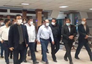 حضور سرزده وزیر راه و شهرسازی در ایستگاه راهآهن تهران
