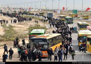 آماده باش ۲۵۰۰ دستگاه اتوبوس برای بازگشت زمینی زائران