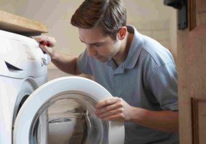 چرا در ماشین لباسشویی بسته نمیشود؟