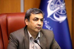 محمدرضا اله یار معاون مهندسی و توسعه امور زیربنایی توسعه سواحل کشور سازمان بنادر و دریانوردی